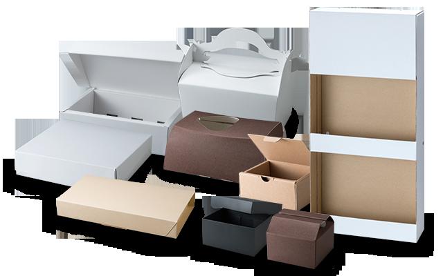 パッケージ製品・サンプル作り